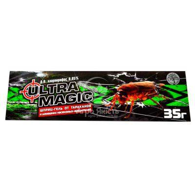 Ultra Magic шприц - гель від тарганів 35 г