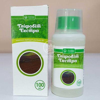 Гліфовіт Екстра 100 мл, гербіцид суцільної дії (Ukravit)