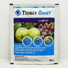 Тіовіт Джет 40 грам, фунгіцид-акарицид (Syngenta)