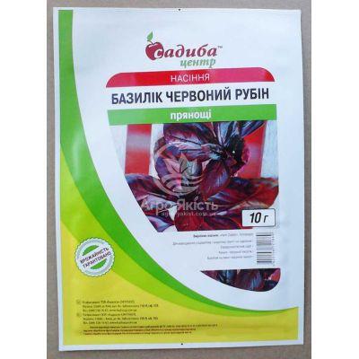 Базилік Червоний рубін 10 г СЦ