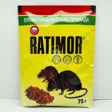 Ратімор 75 грам, родентицид, засіб для боротьби з мишами та щурами (Unichem)