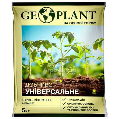 Добриво органічне Геоплант універсальне 5 кг