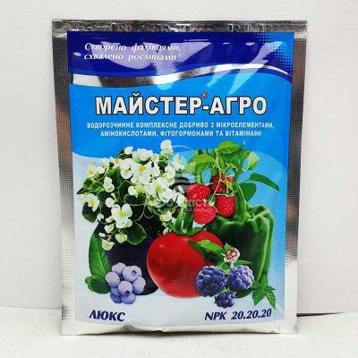 Добриво Майстер - Агро 20-20-20 Люкс 100 г